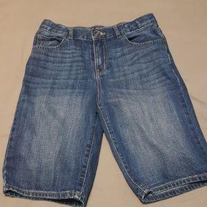 2/$20 boys children's place jean shorts